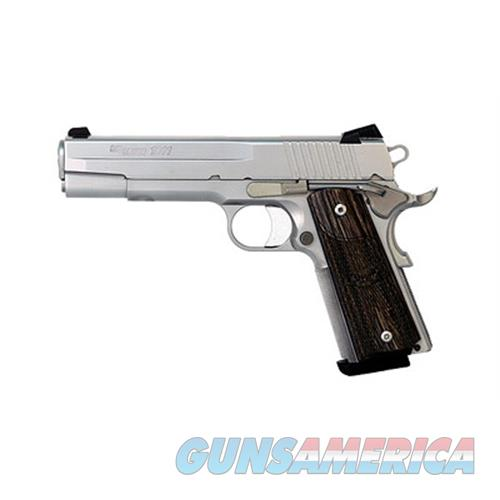 "Sig Sauer Sig 1911 45Acp 5"" 8Rd Sts Fns Blkwd 1911-45-SSS-CA  Guns > Pistols > S Misc Pistols"