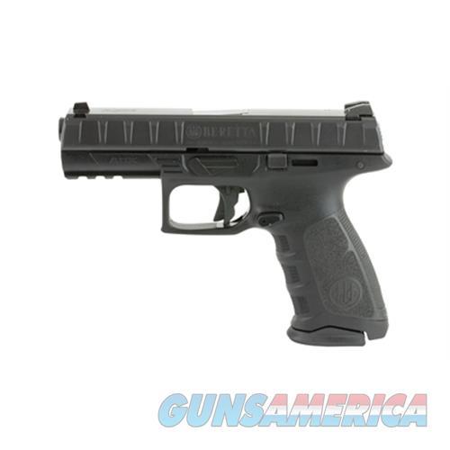 Beretta Apx 9Mm 4.25 Blk Poly 3 Dot Sights 10Rd JAXF920  Guns > Pistols > B Misc Pistols