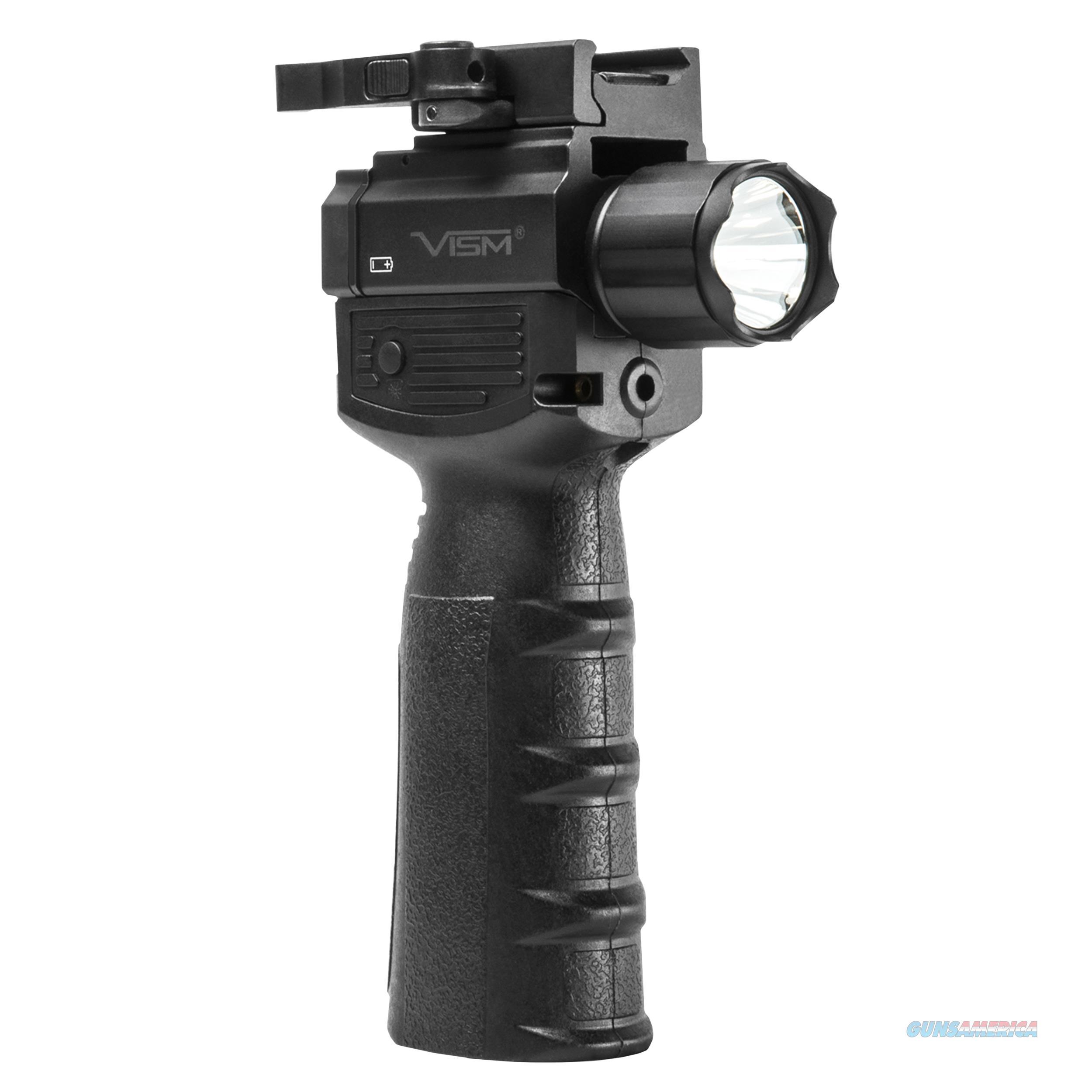 Ncstar Vert Grip Light/ Red Laser VAQVGFLRV2  Non-Guns > Gun Parts > Misc > Rifles