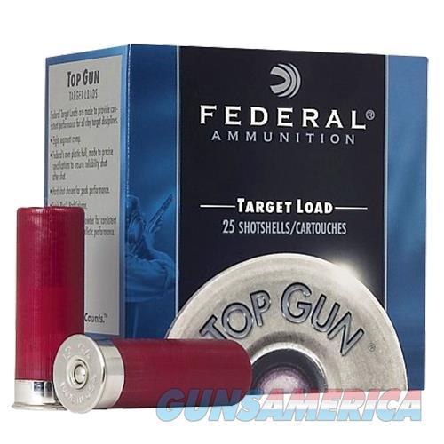 """Federal Tgl1275 Target Top Gun  12 Gauge 2.75"""" 1-1/8 Oz 7.5 Shot 25 Bx/ 10 Cs 50029465019803  Non-Guns > Ammunition"""