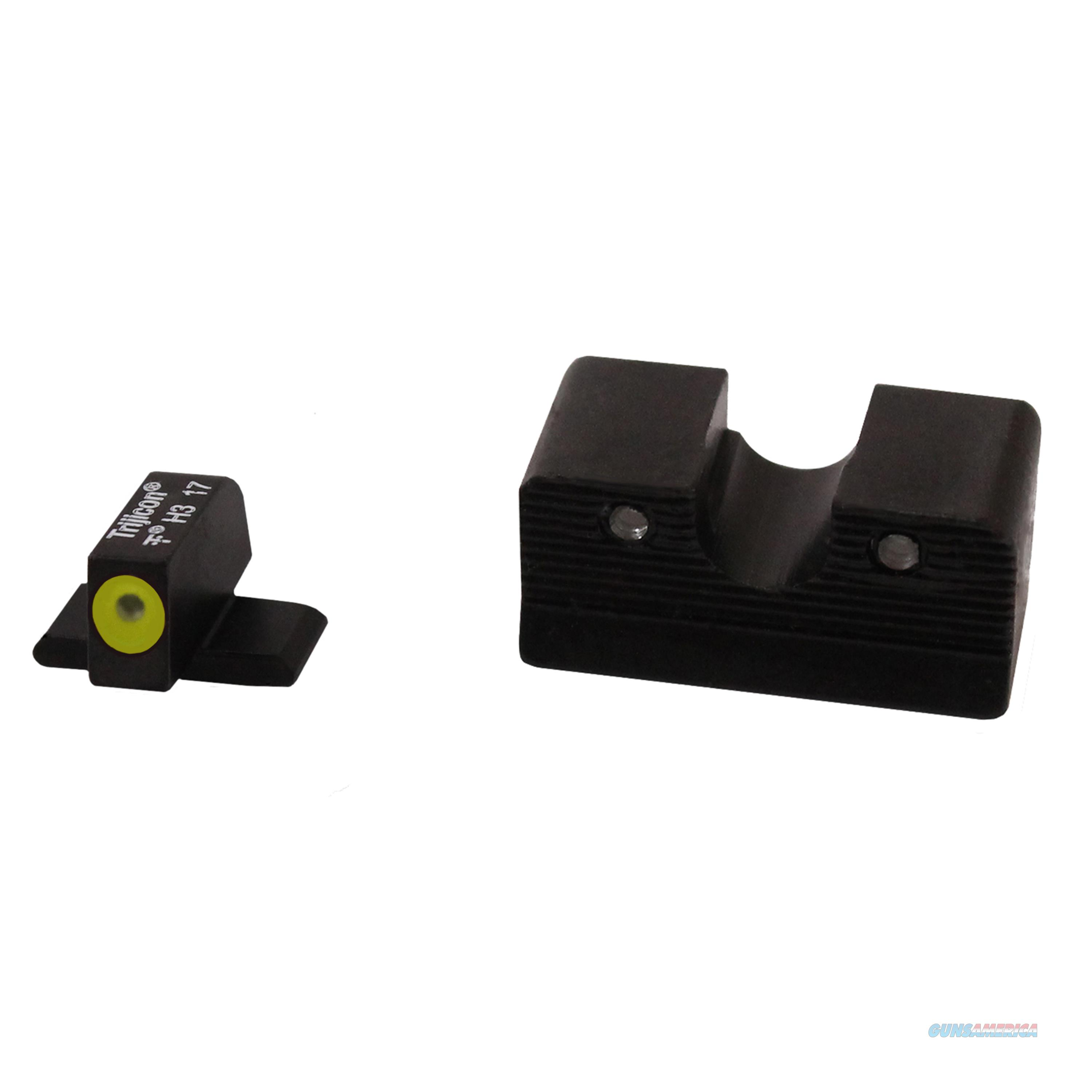 Trijicon Night Sight Set Hd Xr Yellow Outline Fn 509 FN604C600999  Non-Guns > Iron/Metal/Peep Sights