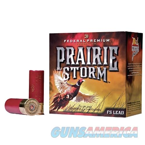 "Federal Pf258fs6 Prairie Storm Fs Lead  20 Gauge 3"" 1-1/4 Oz 6 Shot 25 Bx/ 10 Cs PF258FS 6  Non-Guns > Ammunition"
