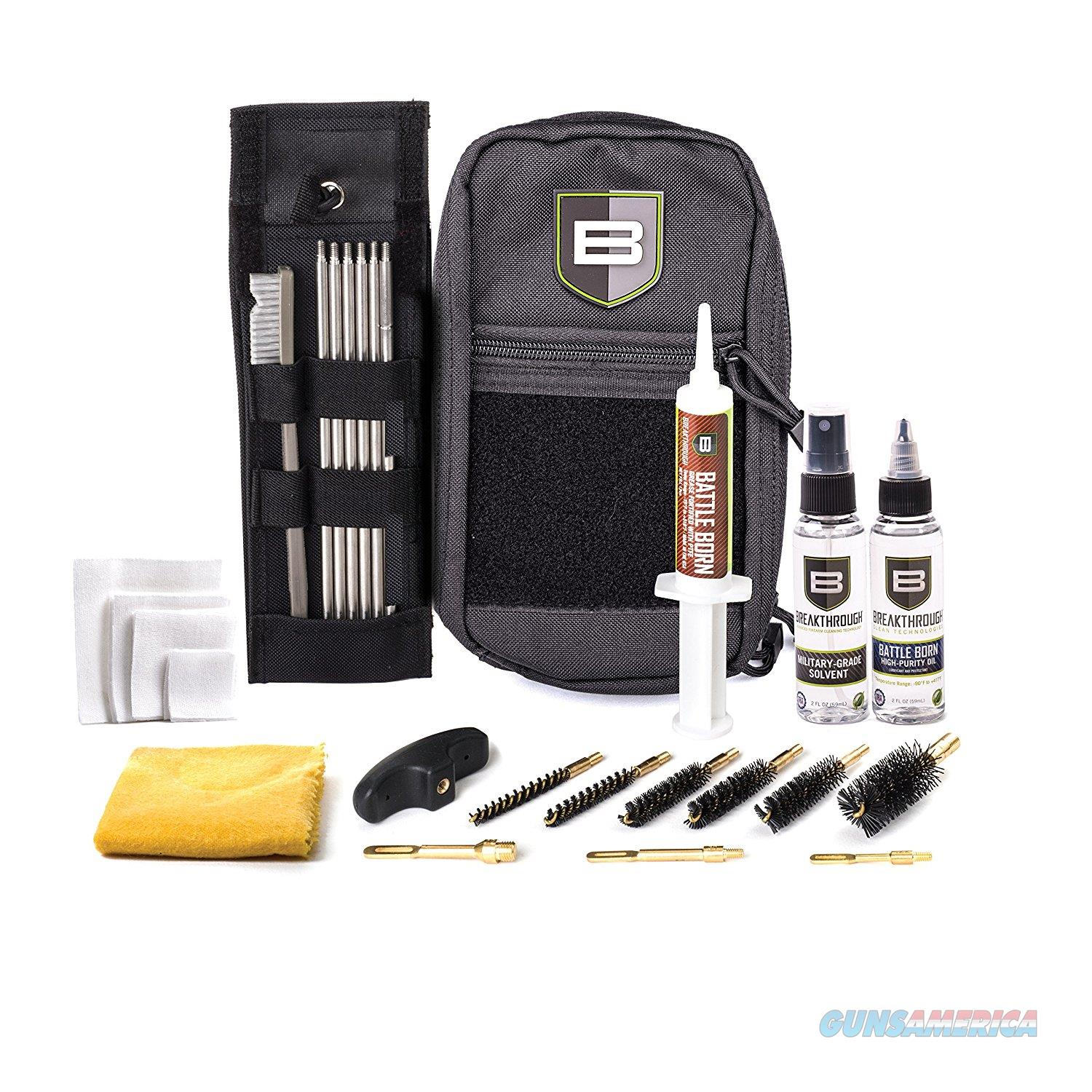Breakthrough Cleaning Kit .22 Cal Thru 12 Gauge - Black BT-LOC-U  Non-Guns > Gunsmith Tools/Supplies