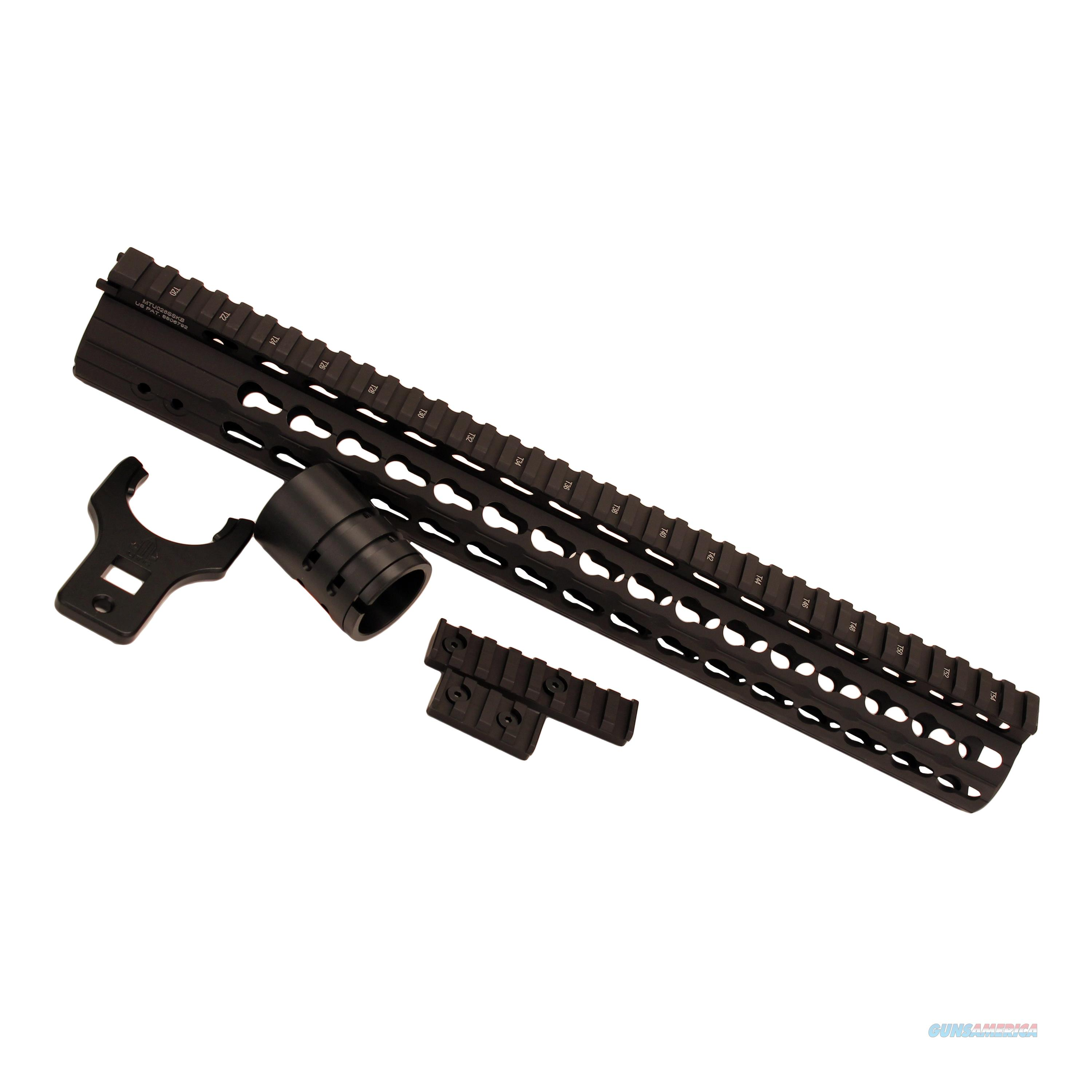 "Leapers 15"" Keymod Free Float Rail MTU026SSKB  Non-Guns > Gun Parts > Misc > Rifles"