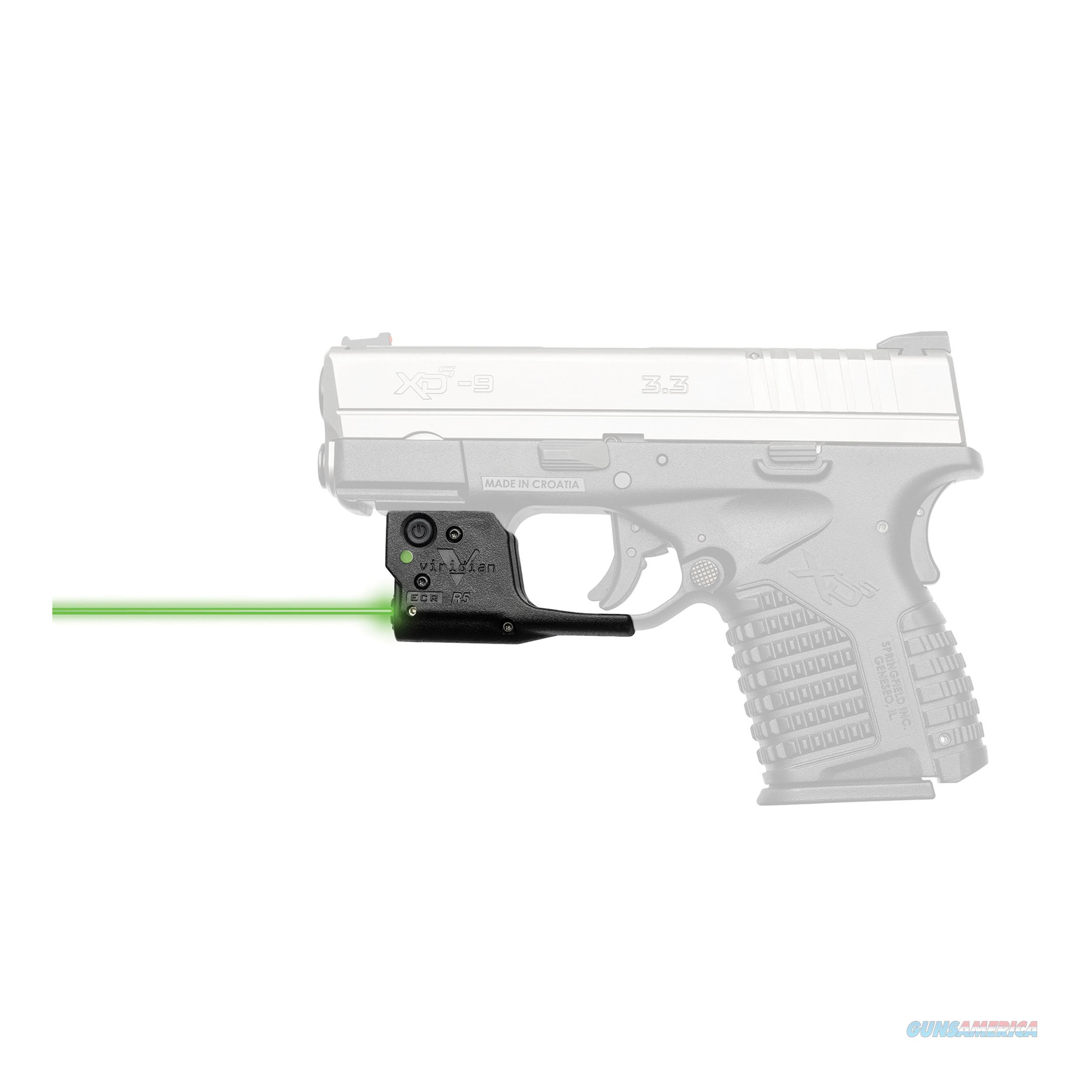 Viridian Green Laser Reactor 5 Gen Ii Green Laser 920-0018  Non-Guns > Iron/Metal/Peep Sights