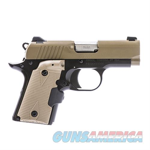 Kimber Micro Desert Tan (Lg) 9 KIM3300168  Guns > Pistols > K Misc Pistols