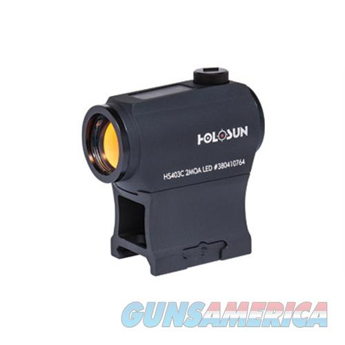 Holosun 2Moa Red Dot Solar HS403C  Non-Guns > Scopes/Mounts/Rings & Optics > Mounts > Other