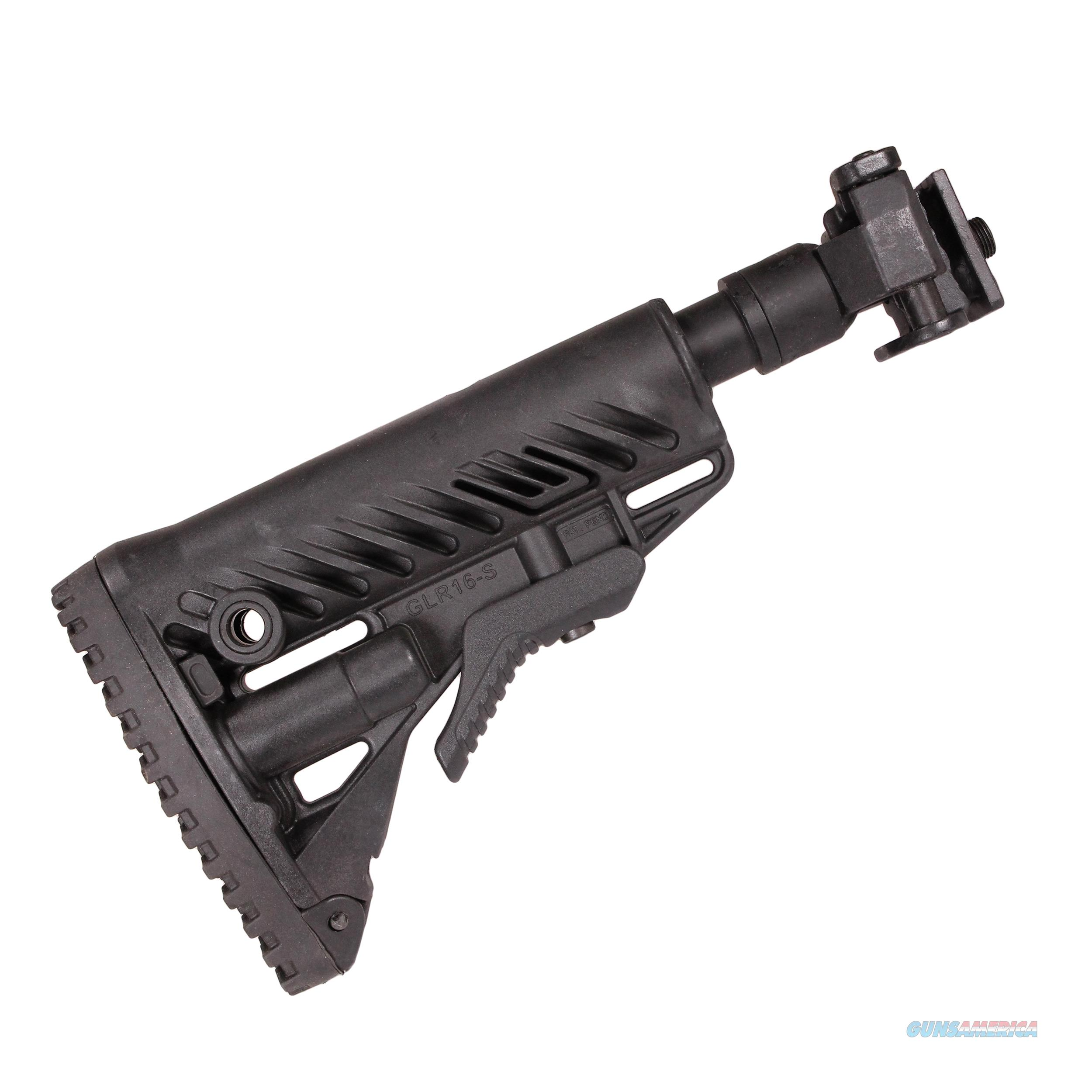 Mako Group Galil Style Recoil Compensating Folding Collapsible Buttstock System M4VZ SB-B  Non-Guns > Gunstocks, Grips & Wood