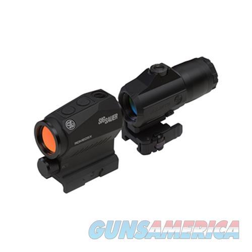 Sig Romeo5 With Juliet3 3X Combo SORJ53101  Non-Guns > Scopes/Mounts/Rings & Optics > Rifle Scopes > Variable Focal Length