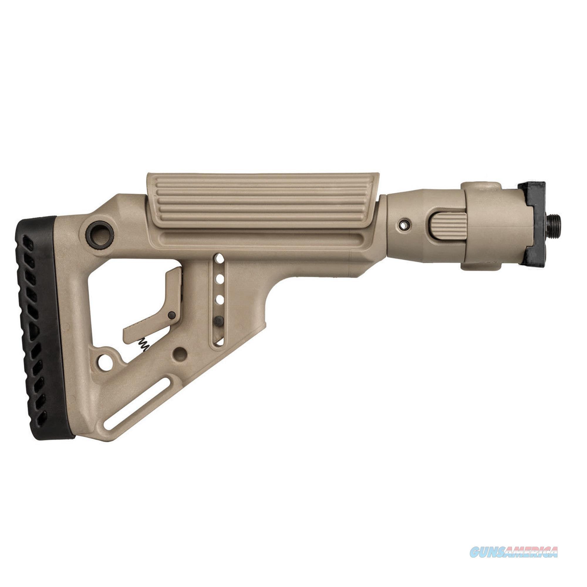 Mako Group Tactical Folding Buttstock UAS-VZP-FDE  Non-Guns > Gunstocks, Grips & Wood
