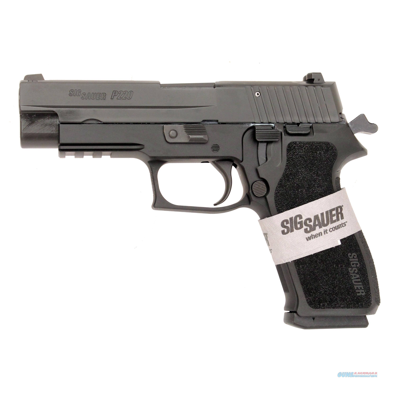 Sig Sauer P220r 45Acp 8Rd Blk N/S 220R-45-BSS  Guns > Pistols > S Misc Pistols