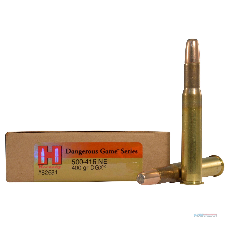 Hornady 500-416 Nitro Express 82681  Non-Guns > Ammunition