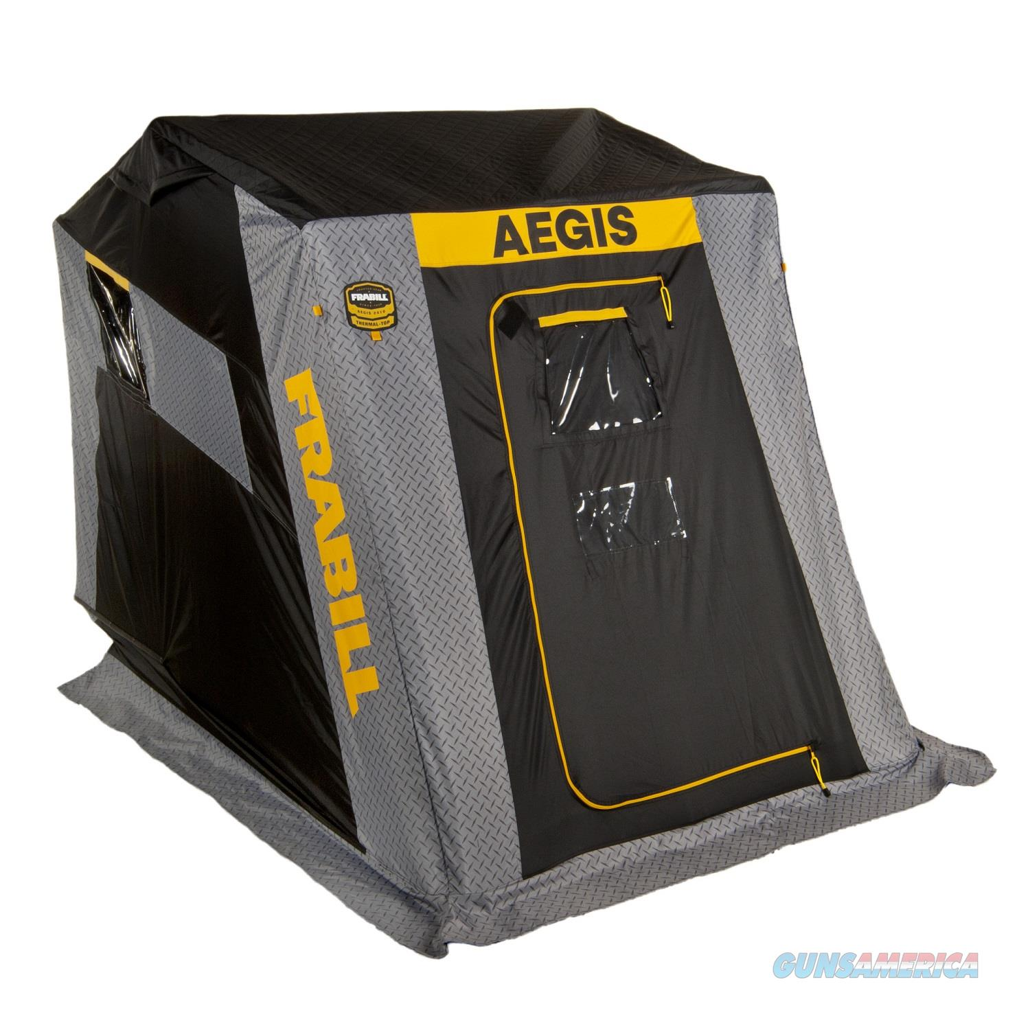 Frabill Aegis 2110 Top Insulated Flip-Over Shelter Jump Seat 640410  Non-Guns > Fishing/Spearfishing