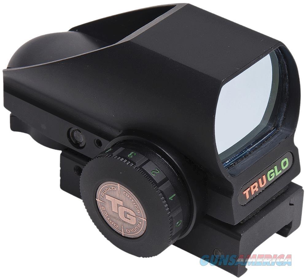 Truglo Tg8380b Tru-Brite 1X 34Mm Obj Unlimited Eye Relief Multi-Reticle Black TG8380B  Non-Guns > Scopes/Mounts/Rings & Optics > Mounts > Other