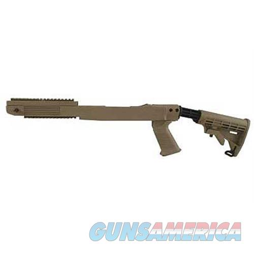 Tapco Tapco Stk T6 Rug 10/22 6-Pos/Rail Fd STK63160 DARK EARTH  Non-Guns > Gunstocks, Grips & Wood