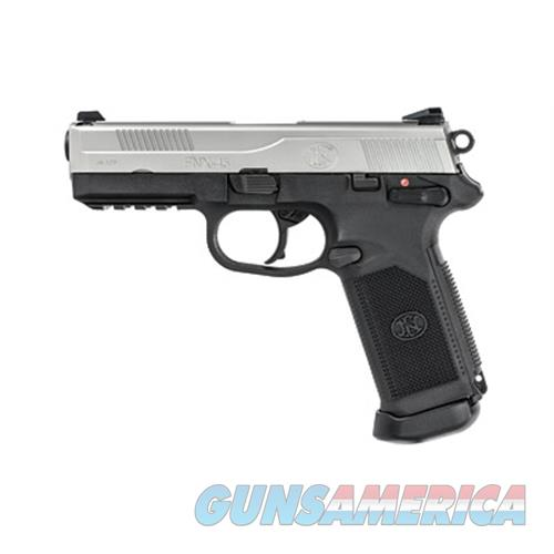 "Fn Manufacturing Fn Fnx-45 4.5"" Blk/Sts 3 Mag Ms 10Rd 66963  Guns > Pistols > F Misc Pistols"