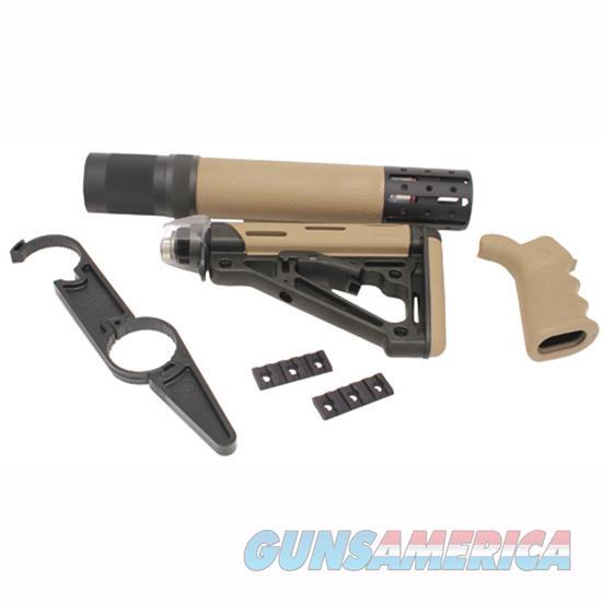 Hogue Kit Ar15 M16 W/ Grip Forend & Stock Fde 15378  Non-Guns > Gunstocks, Grips & Wood