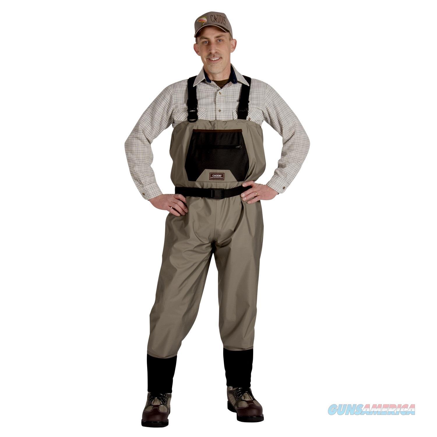 Caddis Men's Breathable Stockingfoot Waders - Xxl Tan CA9901WXXL  Non-Guns > Fishing/Spearfishing