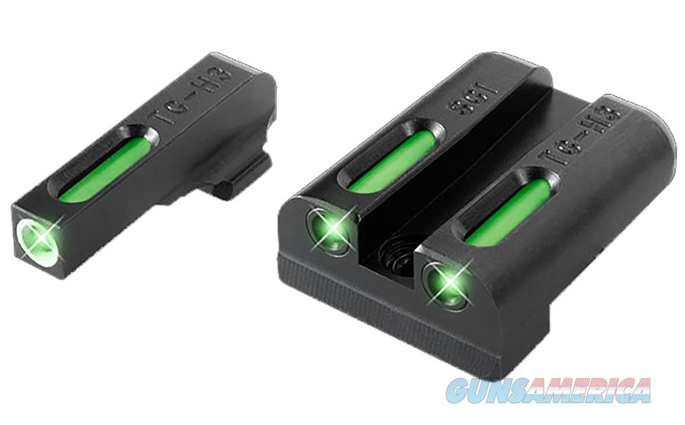 Truglo Tg13sg2a Tfx Day/Night Sights Sig Sauer Tritium/Fiber Optic Green W/White Outline Front Green Rear Black TG13SG2A  Non-Guns > Iron/Metal/Peep Sights