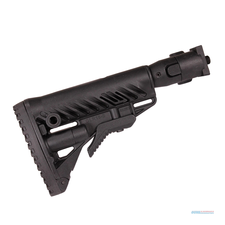 Mako Group Folding Collapsible Buttstock System M4VZP-B  Non-Guns > Gunstocks, Grips & Wood