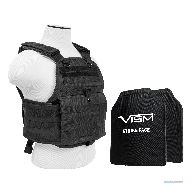 "Nc Star Plate Carrier Vest With 10"" X 12"" Pe Hard Plates BPCVPCV2924B-A  Non-Guns > Gun Parts > Misc > Rifles"