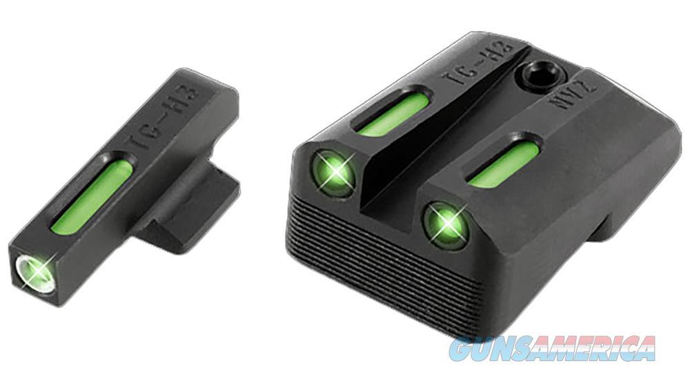 Truglo Tg13nv1a Tfx Day/Night Sights 1911 Pistol Tritium/Fiber Optic Green W/White Outline Front Green Rear Black TG13NV1A  Non-Guns > Iron/Metal/Peep Sights