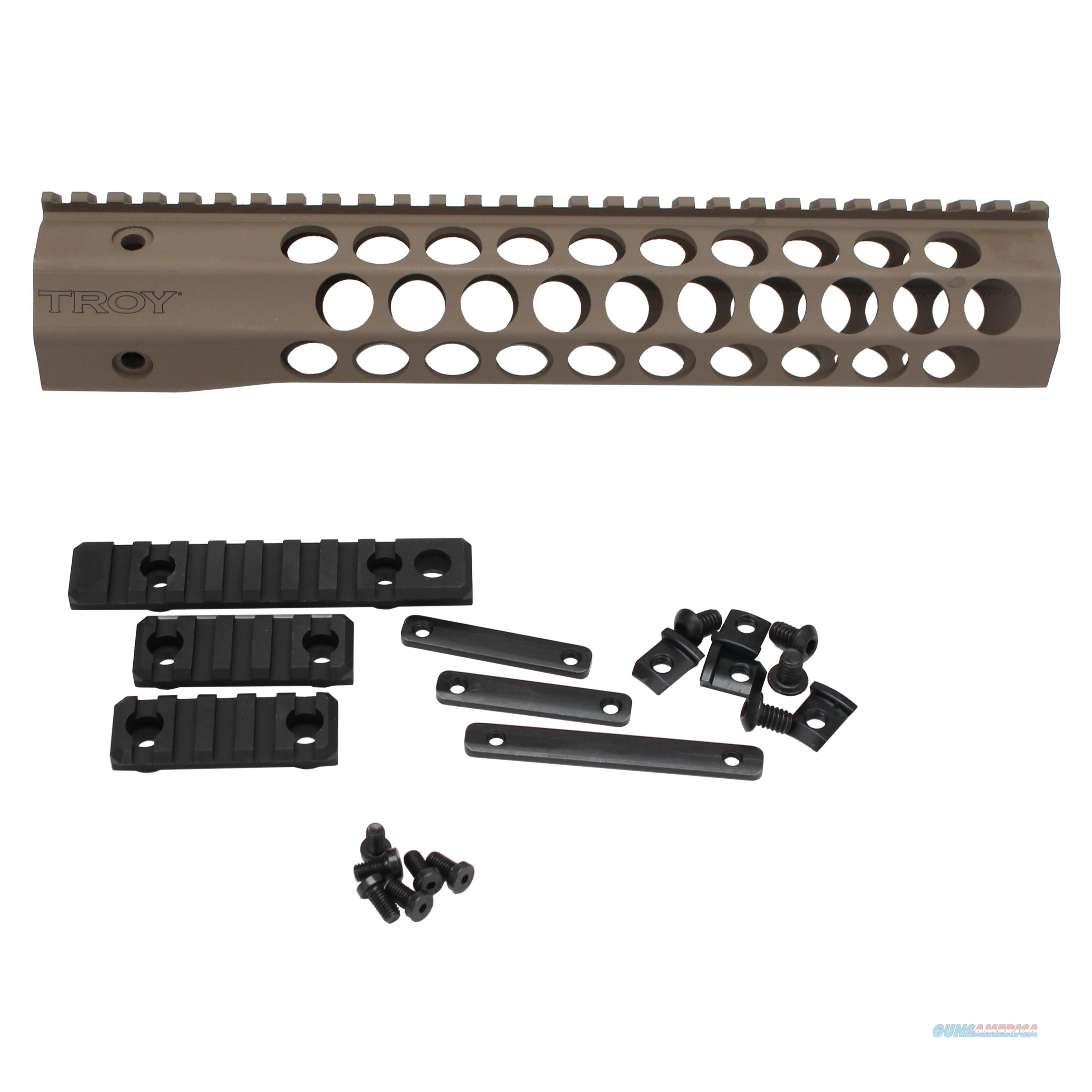"Troy Industries Inc 11"" Troy Alpha Revo Rail STRX-AC1-11FT-00  Non-Guns > Gunstocks, Grips & Wood"