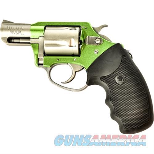 "Charter Arms Shamrock 38 2"" Grn/Ss 53845  Guns > Pistols > C Misc Pistols"