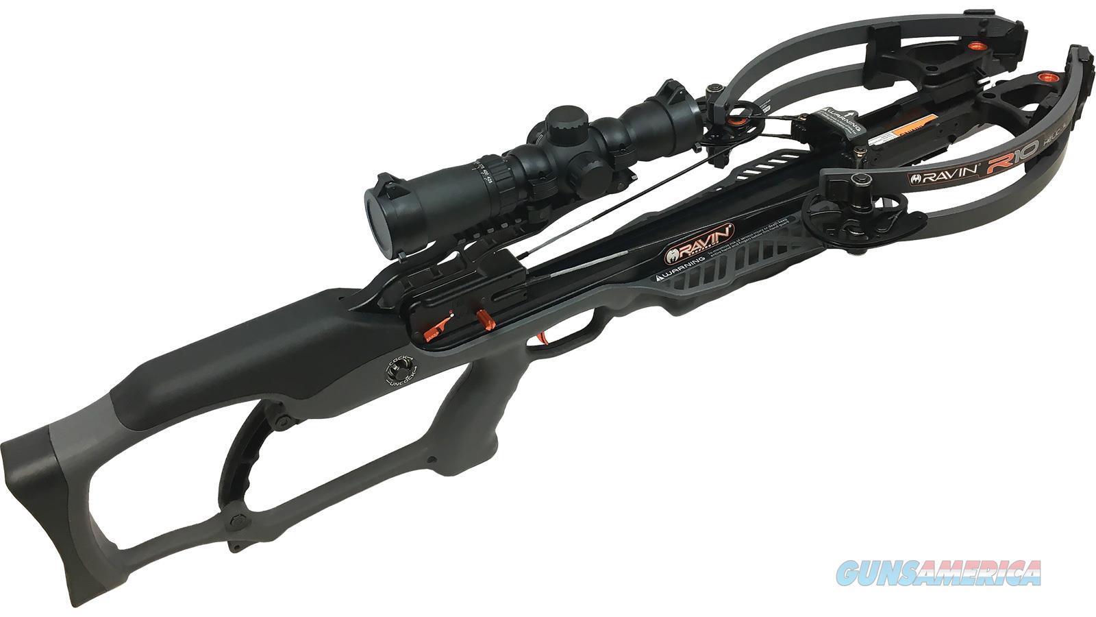 Ravin Crossbows Crossbow R10 Gunmetal Grey R011  Non-Guns > Archery > Bows > Crossbows