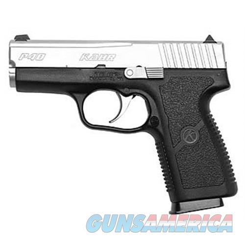 Kahr P40 40Sw Polymer Ns KP4043NA  Guns > Pistols > K Misc Pistols