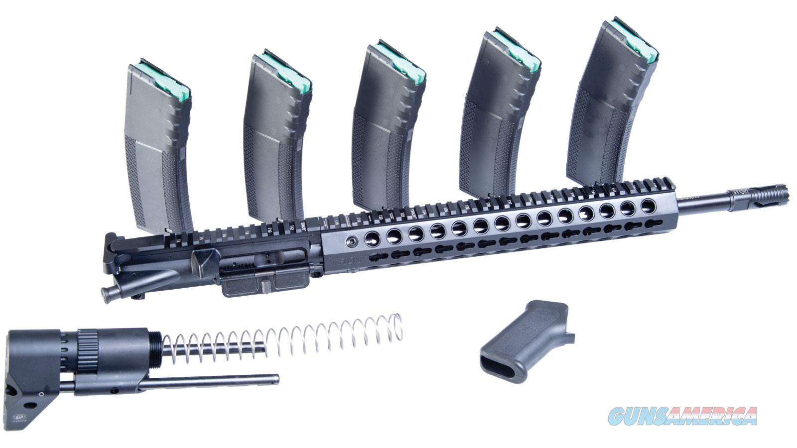 "Troy Industries Inc 16"" Upper W/Pdw Stockflsh SUPR-SPR-16BT-00  Non-Guns > Gun Parts > M16-AR15 > Upper Only"