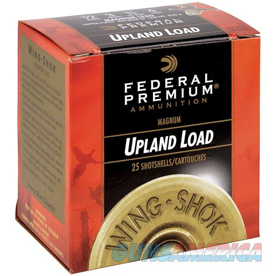 Federal Wing-Shok Magnum 20Ga 2.75 1-1/8Oz #4 25 P2564  Non-Guns > Ammunition