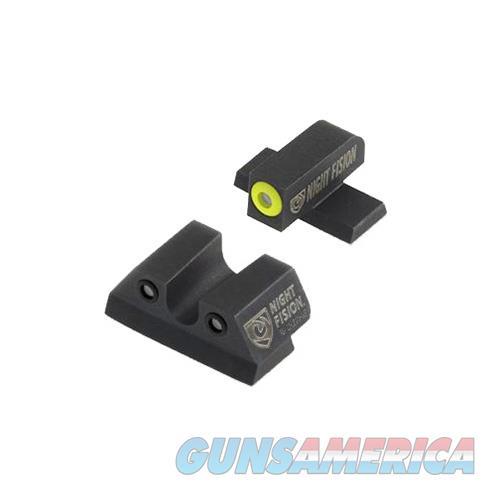 Night Fision Perfect Dot Night Sight Set, Sig Sauer .40 S&W & .45 Acp Caliber P-Series SIG176003YGZG  Non-Guns > Gun Parts > Misc > Rifles