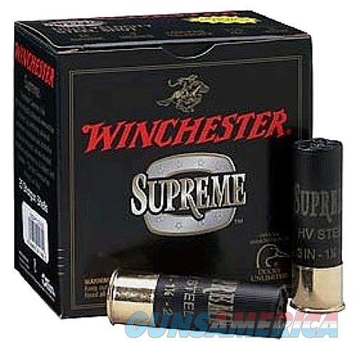 Winchester Ammo Supreme Hv #2 Steel 10Ga 3.5 1 3/8Oz SSH102  Non-Guns > Ammunition
