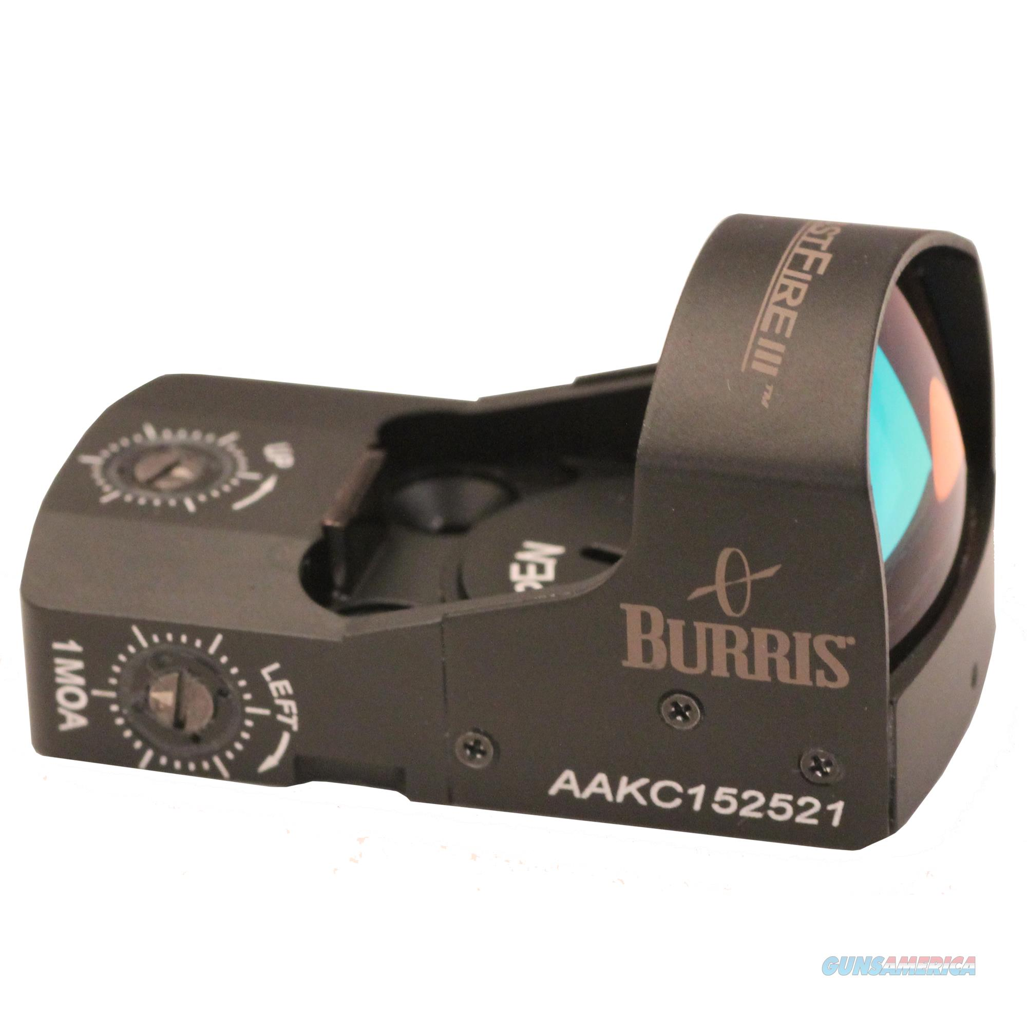 Burris Fastfire Iii 300234  Non-Guns > Iron/Metal/Peep Sights