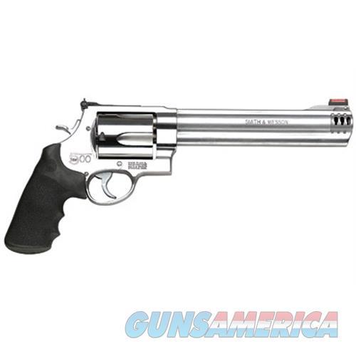 Smith & Wesson 500 500Sw 8 3/8 Ss 5Rd Hi Viz 163501  Guns > Pistols > S Misc Pistols