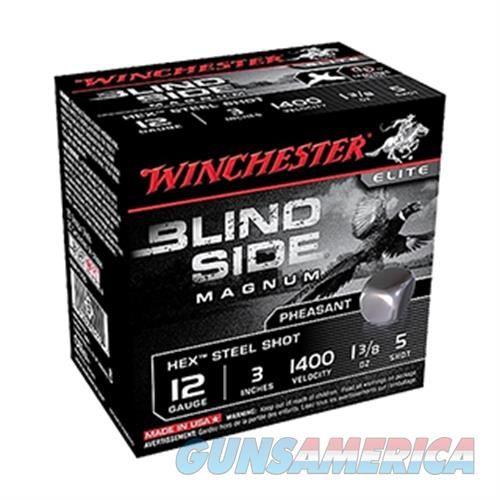 Winchester 12Ga 3 Blindside #5 1 3/8Oz 25/10 SBSPH1235  Non-Guns > Ammunition