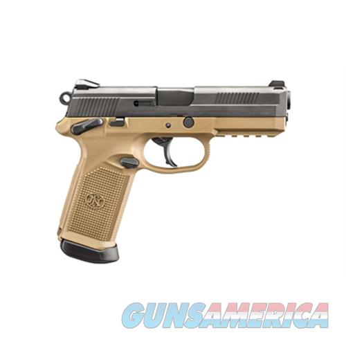 "Fn Manufacturing Fn Fnx-45 4.5"" Fde/Blk 3 Mag Ms 10Rd 66965  Guns > Pistols > F Misc Pistols"