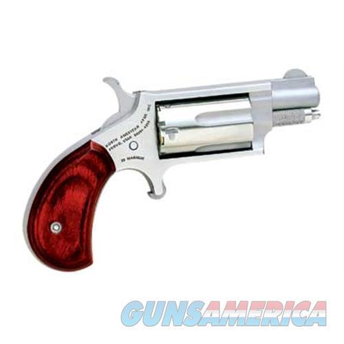 """Naa Mini Rev 22Wmr 1 1/8"""" Red/Blk Gr NAA-22MS-GRB  Guns > Pistols > MN Misc Pistols"""