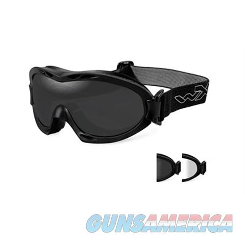 Wiley X Wiley X Nerve Goggles Smk Gry Matte R-8051  Non-Guns > Hunting Clothing and Equipment > Clothing > Non-Camo Outerwear