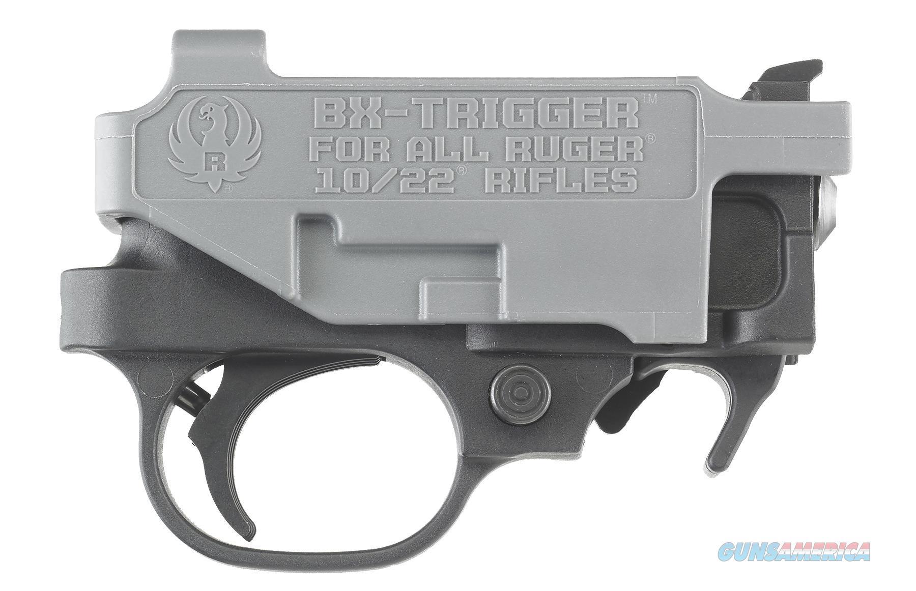 Ruger 90462 Bx Trigger 10/22  And 22 Charger Trigger  Standard  Metal Black 90462  Non-Guns > Gun Parts > Misc > Rifles