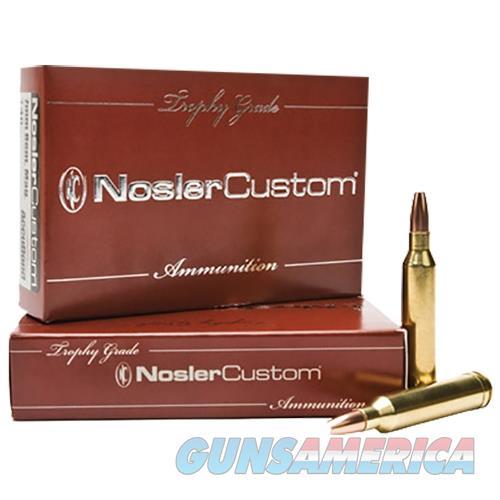 Nosler 60012 Trophy 257 Weatherby Mag110 Gr Accubond 20 Bx/10 Cs Brass 60012  Non-Guns > Ammunition