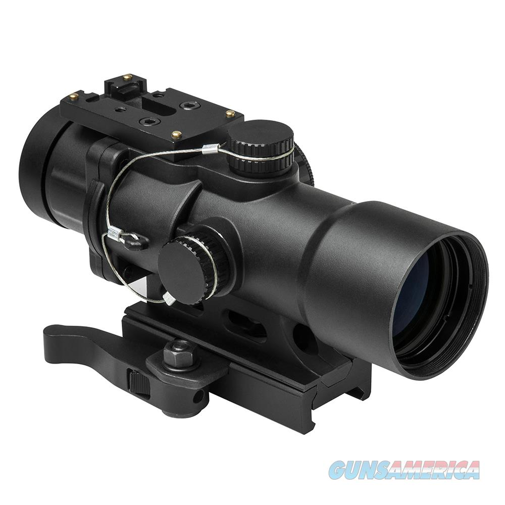 Nc Star 3.5X32mm Compact Prismatic Optic, Black SEECPRQ3532G  Non-Guns > Iron/Metal/Peep Sights