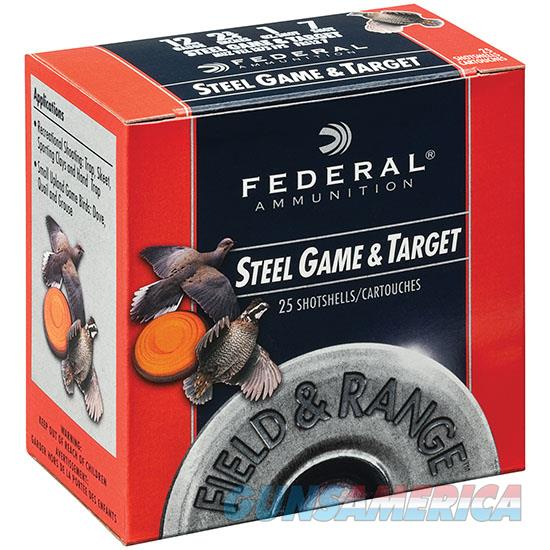 Federal Fld & Range Steel 12Ga 2.75 1Oz #6 25/10 FRS126  Non-Guns > Ammunition