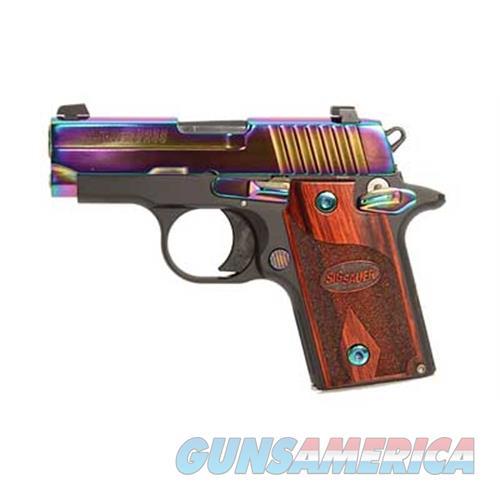 "Sig Sauer Sig P238 380Acp 6Rd 2.7"" Rnbw Ns Wd 238-380-RBT  Guns > Pistols > S Misc Pistols"