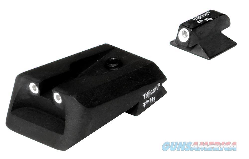 Trijicon 600295 Bright & Tough Night Sights Kimber Tritium Green W/White Outline Black 600295  Non-Guns > Iron/Metal/Peep Sights