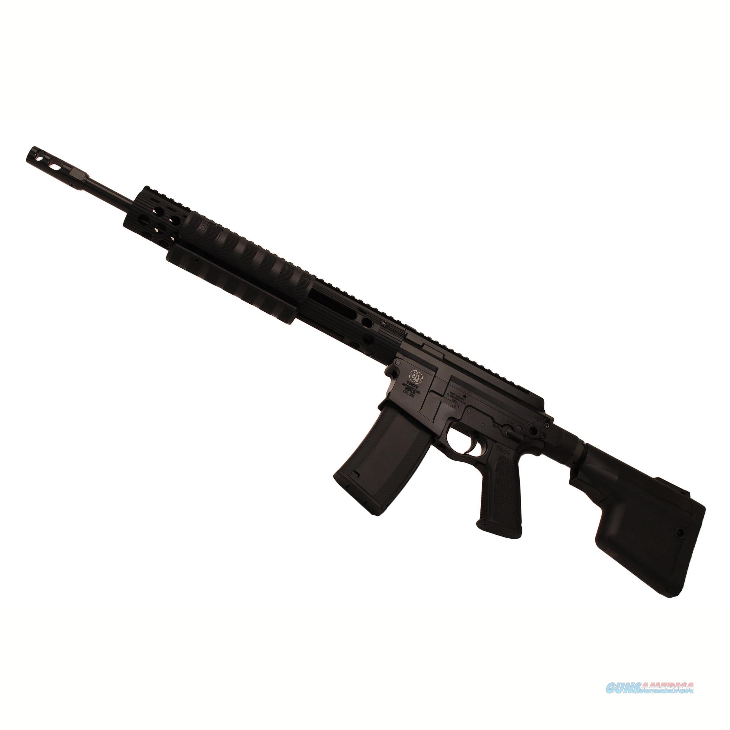 "Troy Industries Inc Pump Ar Sporting .308 Win 16"" 10Rd Optic Ready SPAR-S38-16BT-01  Guns > Rifles > TU Misc Rifles"