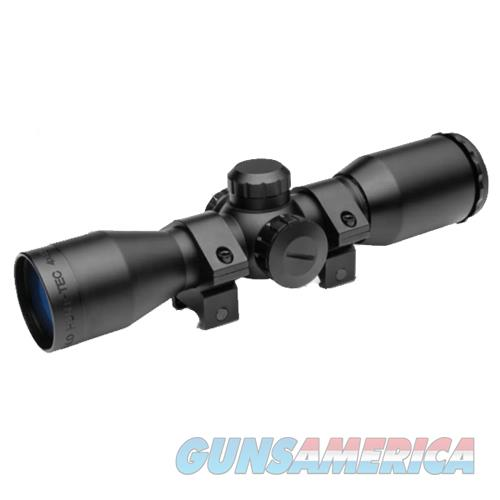 T.R.U. Ball Release Products Hunt Tec Compact Riflescope, 4X32mm Illuminated Reticle With Rings, Black TG8504AL  Non-Guns > Scopes/Mounts/Rings & Optics > Rifle Scopes > Variable Focal Length