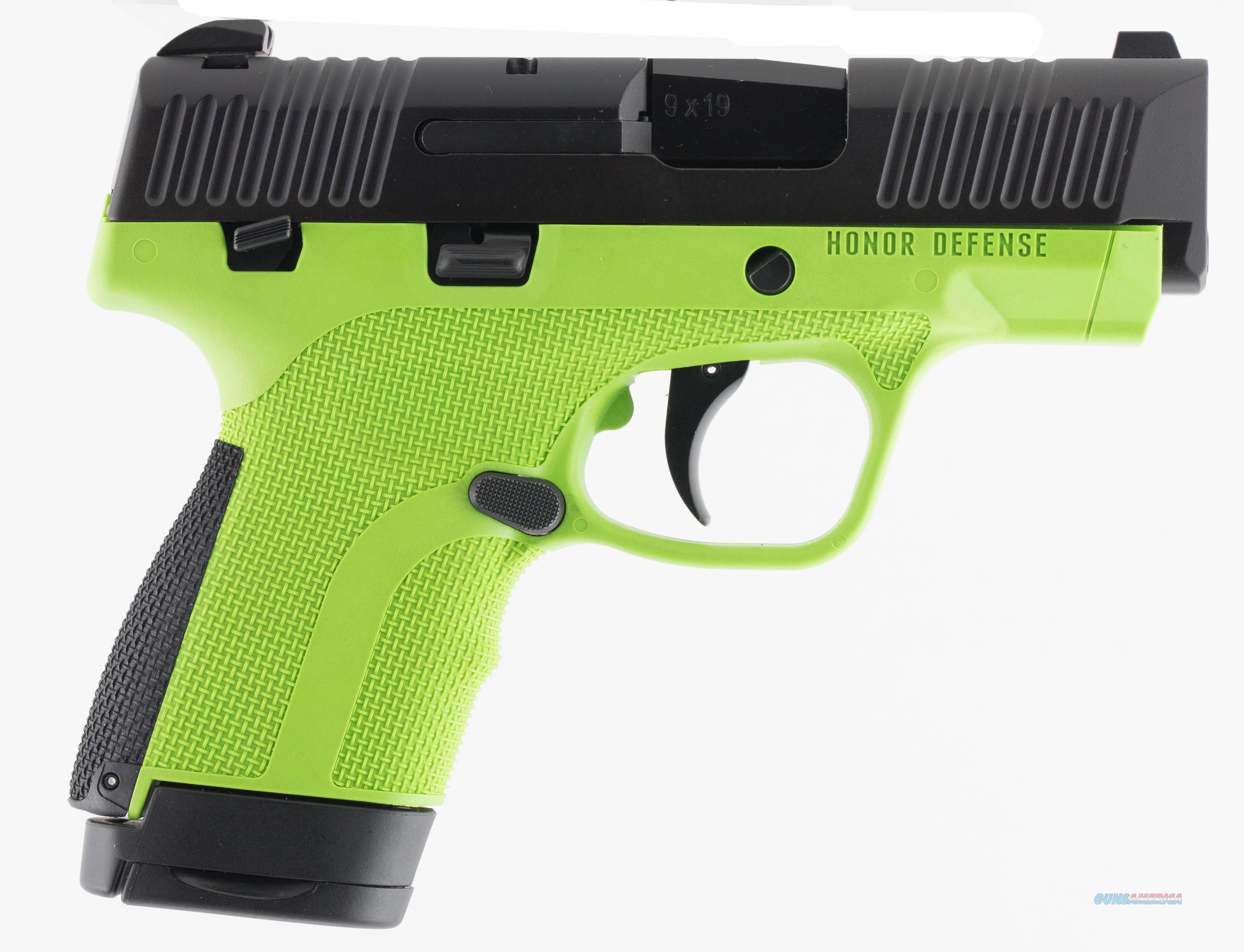 """Honor D 9Mm Sub Compact 3.2"""" HG9SCMSAG  Guns > Pistols > H Misc Pistols"""