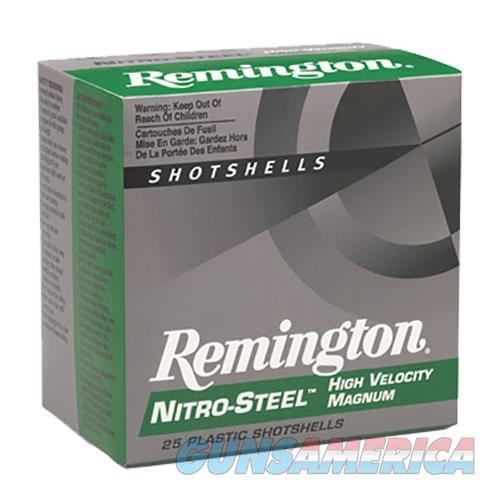 """Remington Ns12m2 Nitro Steel Shotshells 12 Ga 3"""" 1.3 Oz 2 Shot 25Box/10Case NS12M2  Non-Guns > Ammunition"""